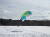 Safe and Fun environment for Snow KIteboarding