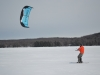 Snowkiting lessons with Kite Club NY