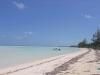 Endless beach  of South Andros Bahamas