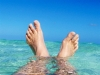 Clean shallow water of South Andros Bahamas
