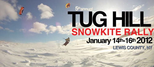 Kite Club NY at TUG HILL SNOWKITE RALLY