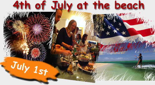 4th July with Kite Club Hatteras at OBX, NC