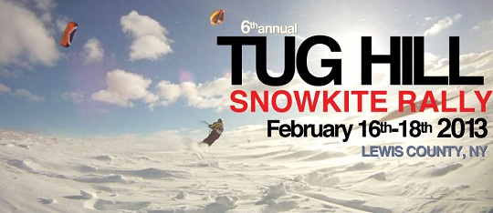 Tug Hill Snowkite Rally with Kite Club NY