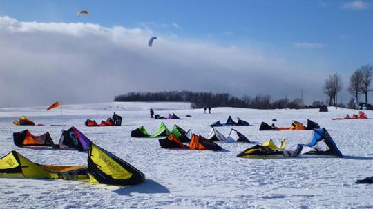 TugHill Snowkite Camp 2015