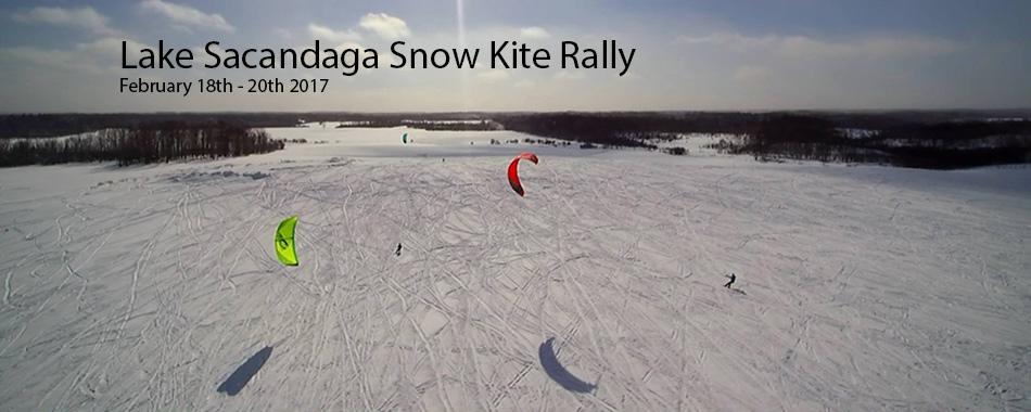 Lake Sacandaga Snowkite Rally